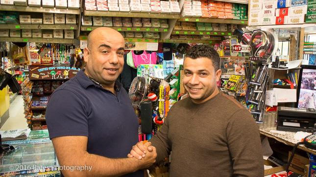 Rocky and Leo Ayou, Apollo Beach Market