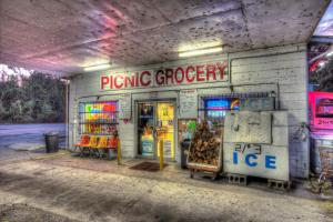 This picture is of Picnic Grocery in the town of Lithia.